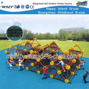 Kinderen die Apparatuur HF-18902 beklimmen van het Spel van de Speelplaats Openlucht