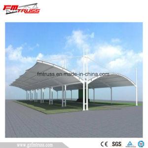 Fuertes y grandes Span estructura de membrana de tracción de aparcamiento