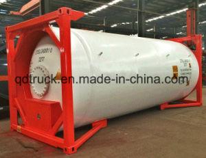 Contenitore liquido chimico del serbatoio del NaOH 32% della soda caustica del rimorchio del camion pesante della Cina