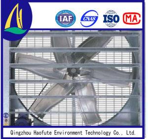 Tipo industriale ventilatore della farfalla di scarico per pollame/serra