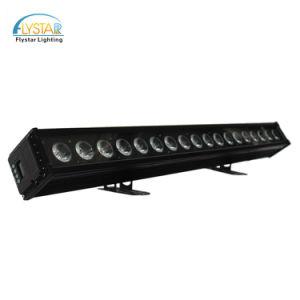 屋外18PCS RGBWA線形LEDピクセル壁の洗濯機ライト