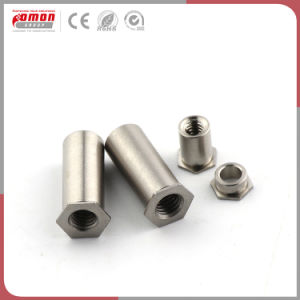 Personalizar el espaciador de aluminio de la construcción de los accesorios de metal sujetador