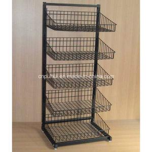 Beweglicher Fußboden-stehende Metallmasse-Bildschirmanzeige-Vorrichtung (PHY315)