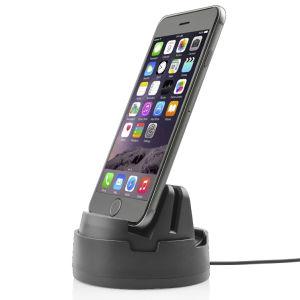 Escritorio de la estación de base de carga 360 Girar Rapidísimo Cargador para iPhone