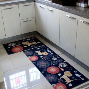De mooie Comfortabele Milieuvriendelijke Wasbare Mat van de Lijst, het Tapijt van de Stoel, de Mat van de Vloer, de Mat van de Keuken