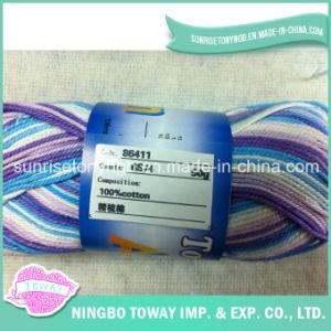 100% algodão 6s / 4 Cross Stitch linha de lãs respirável fios de tricô