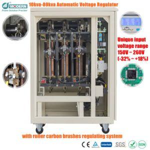 Phase 3 AVR AC Régulateur de tension automatique 50kVA 60kVA