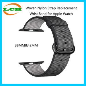 Fascia di manopola di nylon tessuta del rimontaggio della cinghia per la vigilanza del Apple