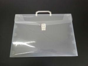カスタム印刷のロゴプラスチックPPのファイルか文書のホールダー(ファイル袋)