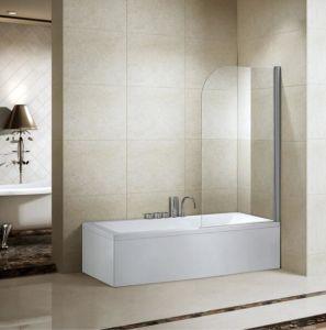 El cuarto de baño 8mm sola bañera redonda pantalla mampara de ducha