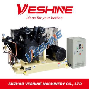 Tipo de parafuso totalmente automático do compressor de ar de sopro de garrafas