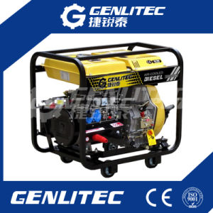 Luft abgekühlter geöffneter Typ 190A Dieselschweißer-Generator-Schweißgerät
