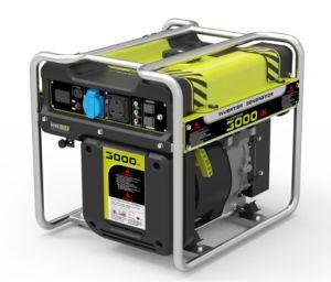 Abrir 2.8kw emoldurado Gasolina Gerador Invertor Portátil