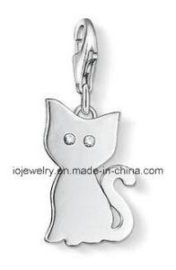 가재를 가진 Laser 커트 보석 고양이 매력