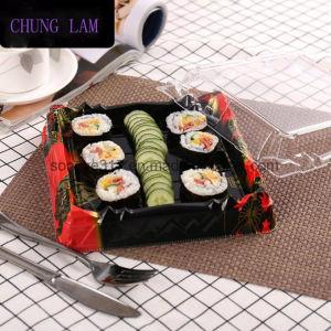 使い捨て可能な寿司の荷箱の高級な印刷の寿司のテイクアウェイボックス