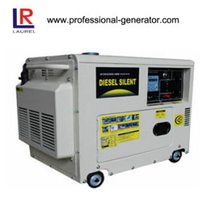 ATSの電気始動機が付いている6.5kVA Air-Cooledディーゼル発電機