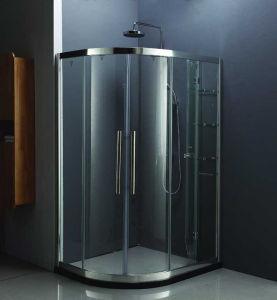 カーブの線形贅沢なフレームのシャワー室のシャワー機構