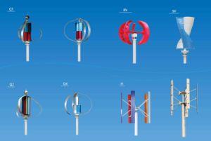 Turbine de vent verticale renouvelable d'axe de l'énergie 800W 48V Vawt à vendre