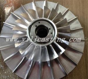 Eixo 5 do ventilador propulsor de usinagem CNC