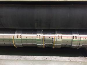 HochgeschwindigkeitsFlexo Drucken, das stempelschneidene Maschine kerbt