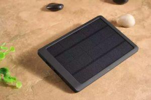 Teléfono móvil Solar ultraligero Cargador de Banco de potencia 12000mAh con la CE aprobó