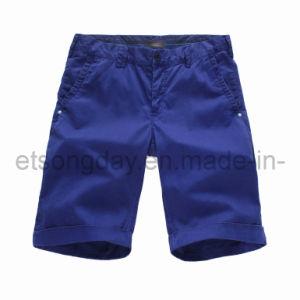 Shorts 100% degli uomini blu scuro del cotone (41U25108)