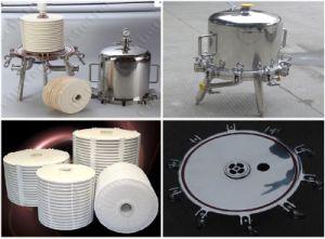 Lentikulares Filtergehäuse (Bier-Filter)