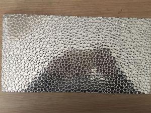 Il laminatoio/specchio ha rifinito lo strato di alluminio impresso pietra del martello per l'illuminazione