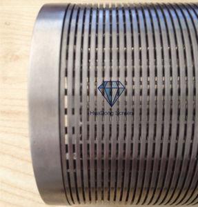 Ranura Mini Johnson arrollamiento de hilo de la cuña de filtro para el consumo de agua… El proyecto de tratamiento de agua subterránea