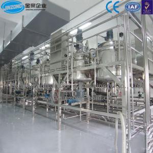Jinzong Machines Ligne de production de savon liquide