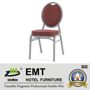 Banquet de couleur rouge marron chaise (EMT-508)