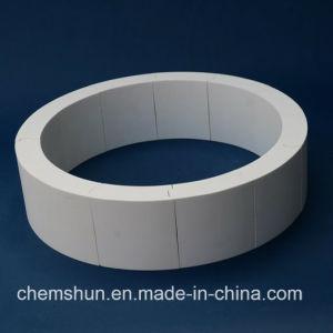 Tonerde-keramische Abnutzungs-beständiges Rohr-Gefäß in der Minenindustrie-Transport-Technik