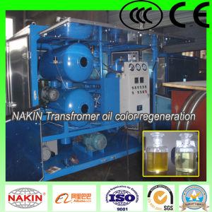 El modelo Zyd purificador de aceite del transformador de vacío de dos etapas