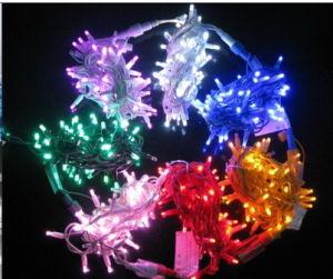 Cable de goma de protección IP68 de la luz de la cadena de LED Luz de Navidad
