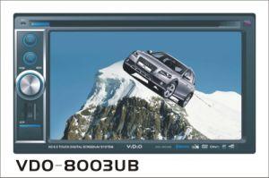 Doppio Giocatore-VDO 8003 dell'automobile DVD di BACCANO
