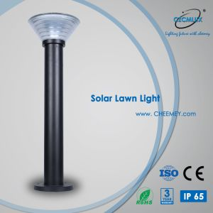 Hot Sale Outdoor Pelouse lumière solaire de jardin IP65 avec batterie au lithium LiFePO4