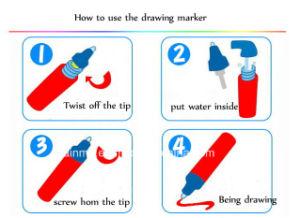 Water allungato Art Canvas per Kids