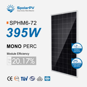 Spolarpv Módulo Solar Panel Solar de 400W 370W para el Sistema Solar de 380 W Sistema de Energía Solar