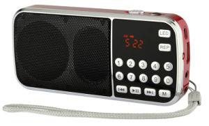 Heißer Verkauf Superbewegliches Baß-raido L-088am, Licht der UnterstützungsAm/FM/TF/USB/Flash/Digitalanzeige