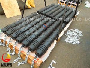 SPDの高性能リターンベルト・コンベヤーのためのゴム製ディスクアイドラー