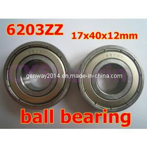Alto padrão de fábrica própria ranhura profunda rolamentos de esferas/Rolamento do Motor (6203 ZZ/6203 2RS)