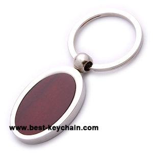 昇進のカスタム卵形の木のキーホルダー(BK53147)