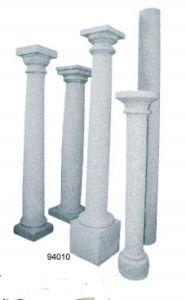 De mooie Grijze Kolom van Buliding van het Graniet voor Verkoop