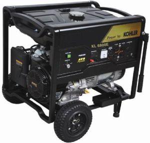 Generador portátil alimentado por Kohler 1-24kVA (KL6800)