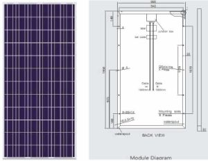 240W Poly Modules solaires PV (BR-P240W)