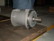 Установка H. установка гидравлического двигателя и насоса на кран