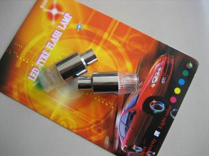 Flash Wheel Lamp Flash Car Tyre Lamp (B0021)