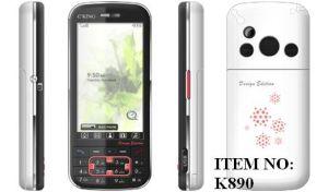 De Mobiele Telefoon van de bar met WQVGA TFT LCD (K890)