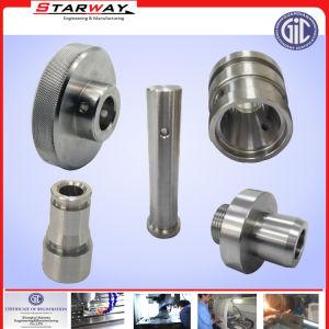 L'aluminium avec des denrées alimentaires d'usinage CNC machines Partie Anodization