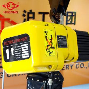 Usine chinoise Cheap palan électrique palan à chaîne de levage